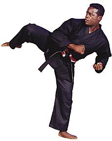 10oz. Black Traditional Heavyweight Karate Uniform